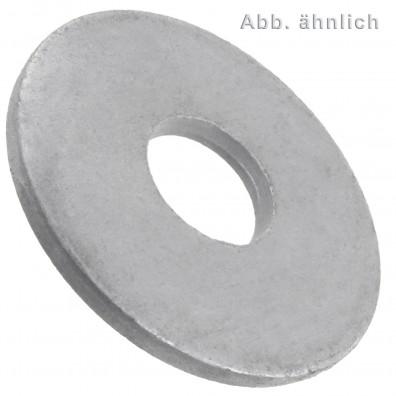 Unterlegscheiben DIN 440/ISO 7094  - Form R - Rundloch - feuerverzinkt