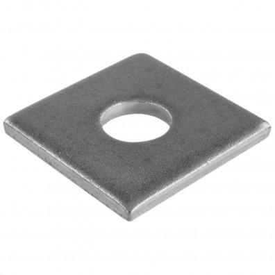 50 Vierkant-Scheiben DIN 436 Edelstahl A4 M24