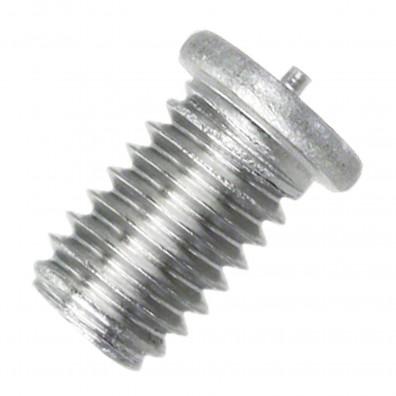 200 Schweißbolzen M6 x 10mm - ISO 13918 - Form PT - Edelstahl A2