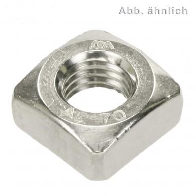200 Vierkantmuttern DIN 557 Edelstahl A4 M8
