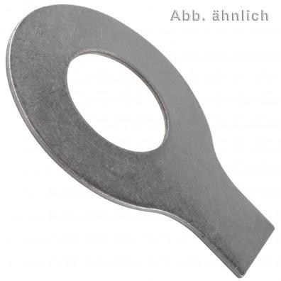 Scheiben mit Lappen - DIN 93 - Edelstahl A4