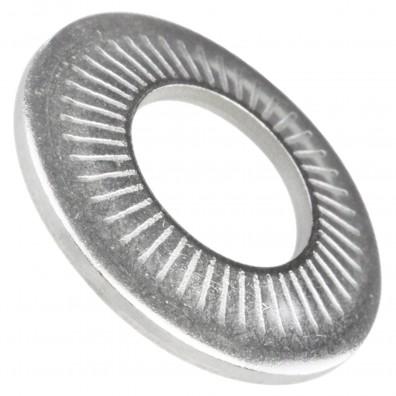 1000 AFNOR-Kontaktscheiben gezahnt für M10 - Form M - Edelstahl A2