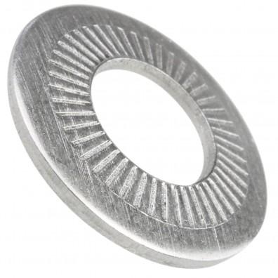 AFNOR – Kontaktscheiben gezahnt - Form M - Edelstahl A2