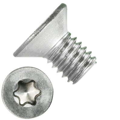 500 Senkschrauben DIN 965, Edelstahl A4, Torx 10, Senkkopf 3 x 5 mm
