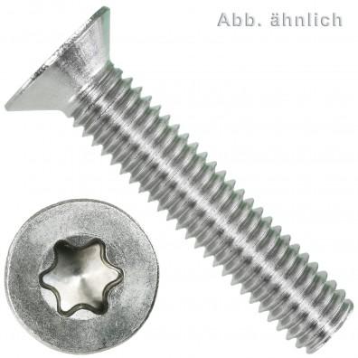 Senkschrauben  DIN 965 - Torx® (TX), Senkkopf - Edelstahl A4