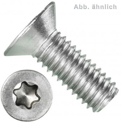 Senkschrauben DIN 966 Edelstahl A4 Torx® (TX) 30 Linsenkopf