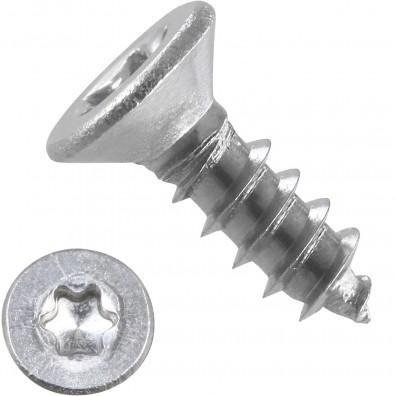 1000 Blechschrauben DIN 7982 – 2,9x9,5mm - Senkkopf – TX10- Edelstahl A2