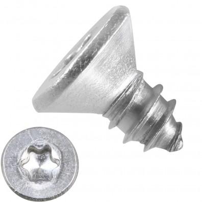 500 Blechschrauben DIN 7982 - 6,3x13mm - Senkkopf – TX30- Edelstahl A2