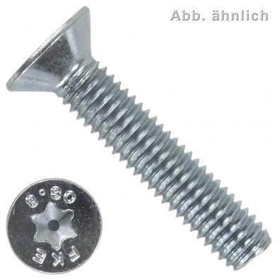 Senkschrauben - ISO 10642 - TX - 8.8 verzinkt