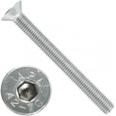 25 Senkschrauben M 12 x 120 mm  - ISO 10642 - Innensechskant - Edelstahl A2