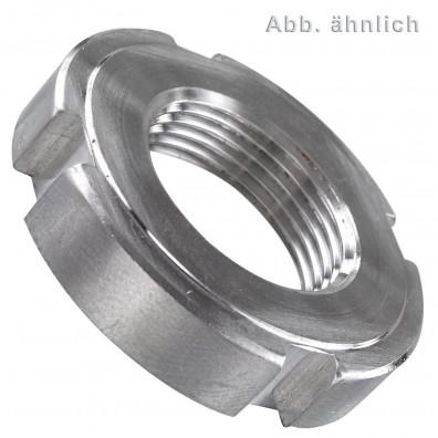 1 Nutmutter M14 -  DIN 1804 - Edelstahl A2