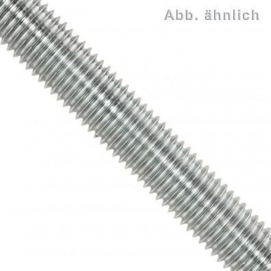 1 Gewindestange M5 x 1000 mm - Edelstahl A4 - Linksgewinde - DIN 976