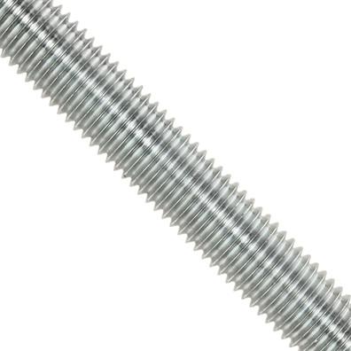 1 Gewindestange M24 x 1000 mm - Edelstahl A4 - DIN 976