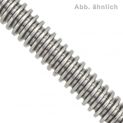 Gewindestange DIN 976 - 1000 mm - Trapezgewinde - Edelstahl A4