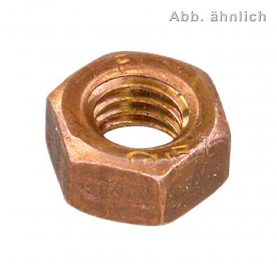 Sechskantmuttern DIN 934 Kupfer CuNiSi