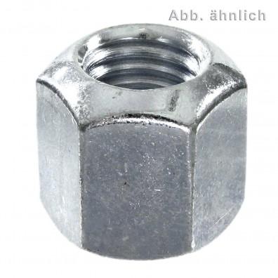 Sechskantmuttern - DIN 6330 - Form B - verzinkt