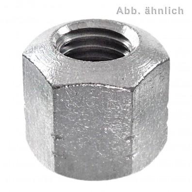 25 Sechskantmuttern M8 - DIN 6330 - Form B - Edelstahl A4