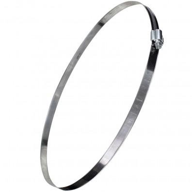 15 Premium Schlauchschellen W1 DIN 3017 verzinkt Bandbr. 12 250-270 mm