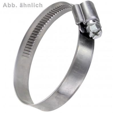 Schlauchschellen DIN 3017 - 12 mm Bandbreite - W1- verzinkt