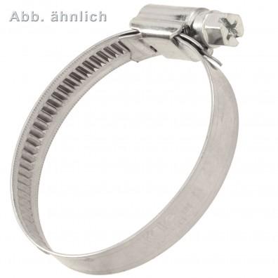 Schlauchschelle DIN 3017 Schlauchbinder Edelstahl A2//A4 Ringschellen Schellen