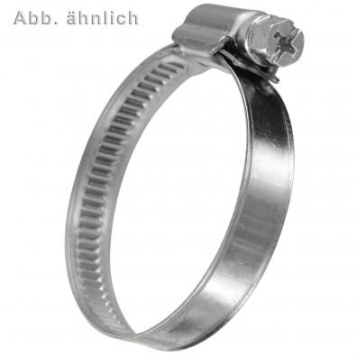 Schlauchschellen DIN 3017 - 9 mm Bandbreite - W2 - Edelstahl F1
