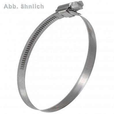 Schlauchschellen DIN 3017 - 9 mm Bandbreite - W4 - Edelstahl A2