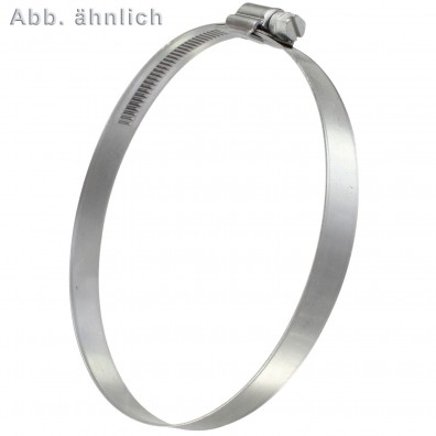 Schlauchschellen DIN 3017 - 12 mm Bandbreite - W5 - Edelstahl A4