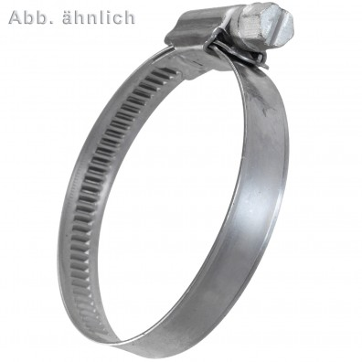 Schlauchschellen DIN 3017 - 9 mm Bandbreite - W5 - Edelstahl A4