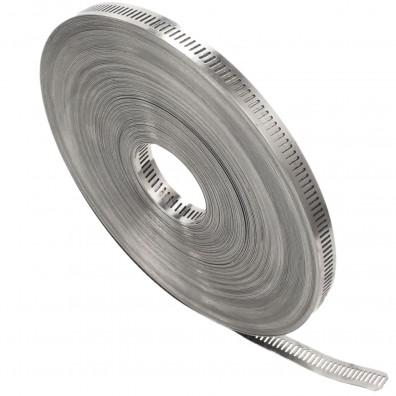 30m Endlosband mit Schneckengewinde 13mm Bandbreite W2