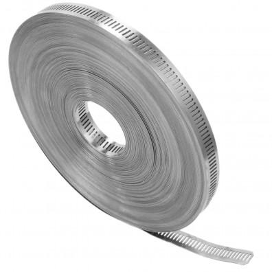 30m Endlosband mit Schneckengewinde 13mm Bandbreite W4