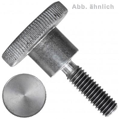 Rändelschrauben - DIN 464 - hohe Form - Edelstahl A1/A2