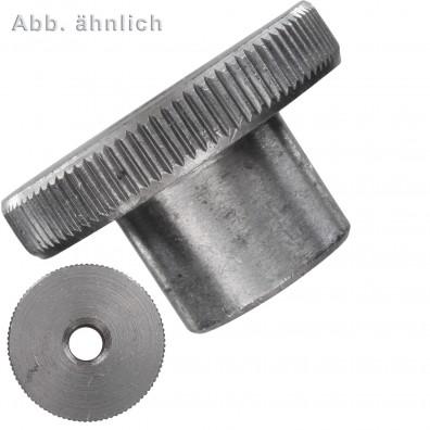 Rändelmuttern - DIN 466 - hohe Form - Edelstahl A1/A2