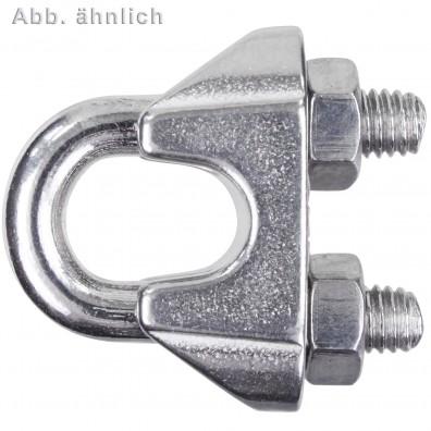 Drahtseilklemmen - ähnlich DIN 741 - Edelstahl A2