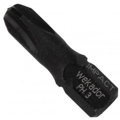 Kreuz (PH) Bits - Profi Qualität - IMPACT - 25mm