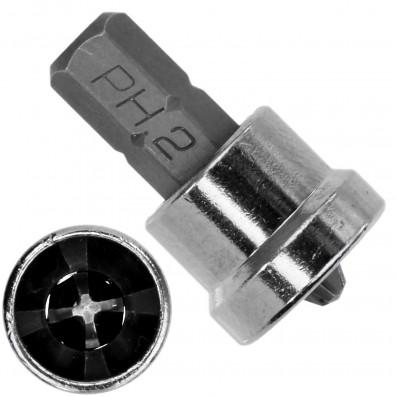 Spezialbit PH2 um bündig zu verschrauben, ideal für den Trockenbau 25 mm