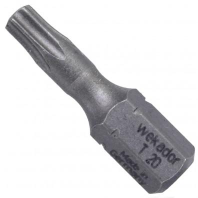 "10 Torx Bits TX20 - 25mm Länge - 1-4"" Antrieb - Industriequalität"