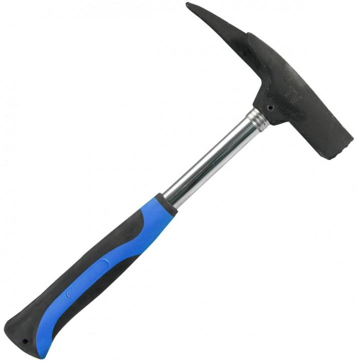 1 Latthammer, 600g , Form C, DIN 729 , 315 mm, Neoprengriff