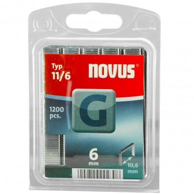 Tackerklammern - Flachdrahtklammern Typ G 11 - verzinkt