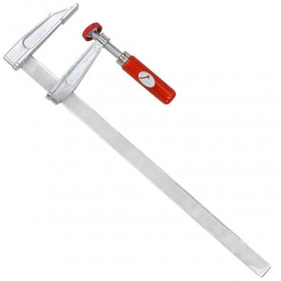 1 Schraubzwinge für Heimwerker leichte Ausführung Zinkdruckguß  300x50 mm
