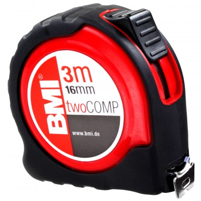 Premium Taschenbandmaß - BMI TwoCOMP
