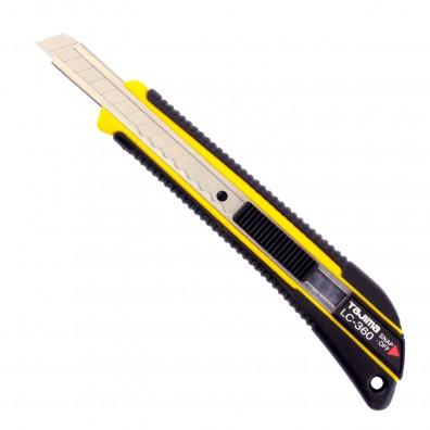 Tajima Premium Cuttermesser GRI aus Japan mit Elastomer Griff