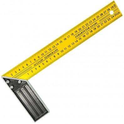 1 Schreinerwinkel, 300 mm , gehärteter Stahl