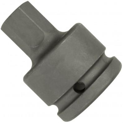 """1 ASW Steckschlüssel, Antrieb 3/4""""H 20 - Außensechskant,Länge 62 mm, SW 19"""