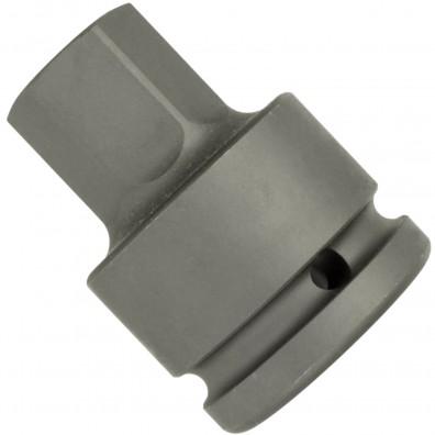 """1 ASW Steckschlüssel, Antrieb 3/4""""H 20 - Außensechskant,Länge 62 mm, SW 24"""