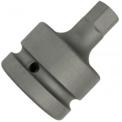 Steckschlüssel / Stecknuss - 1 Zoll Aufnahme - Abtrieb: Außensechskant