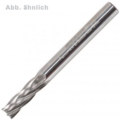 1 Exact HM-ALU Frässtift, Form B, Zylinder (ZYA) mit Stirnzahnung 12x25 mm