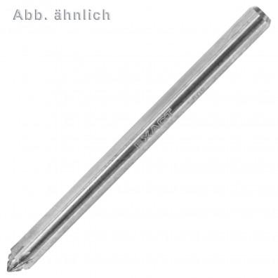 1 Exact HM Frässtift, Form J, Rundkegel 60° (KSJ) 3x3 mm