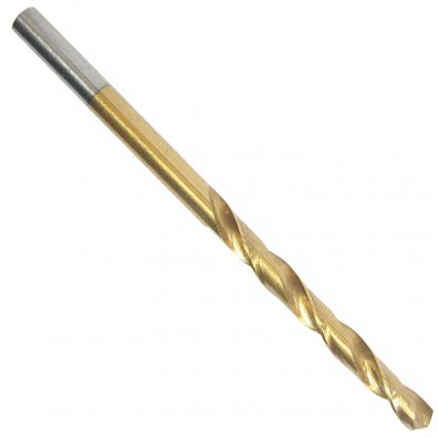 10 Spiralbohrer HSS-G TiN, DIN 338, 4,5 mm