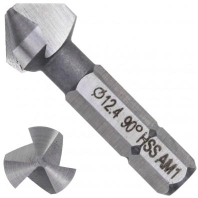 1 KEIL HSS Bit - Kegelsenker 90 Grad , 3-Schneiden 12,4mm