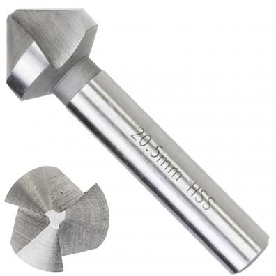 1 Kegelsenker HSS-G DIN 335 M10 - 20,5 mm - Hausmarke